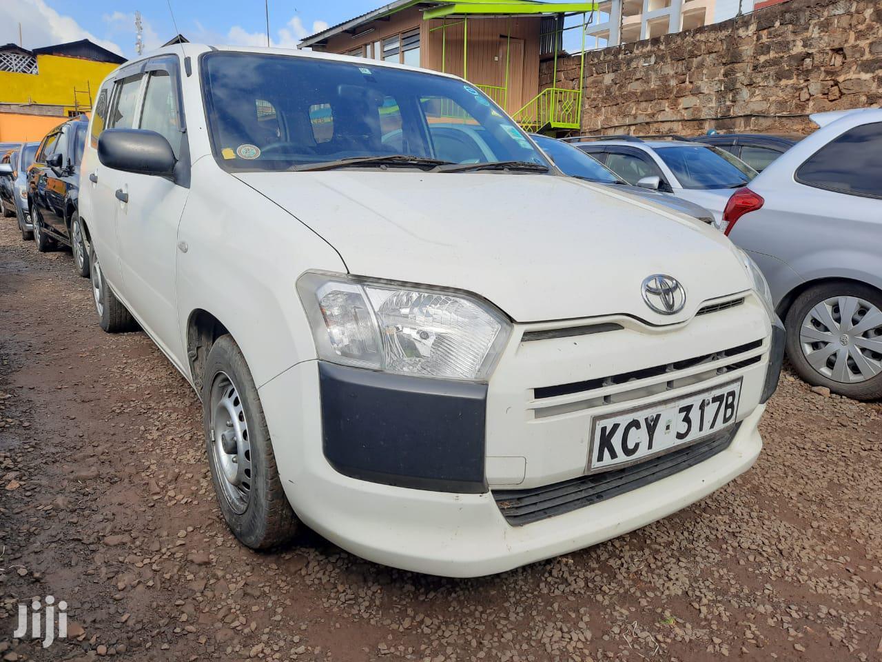Archive: Toyota Probox 2014 White