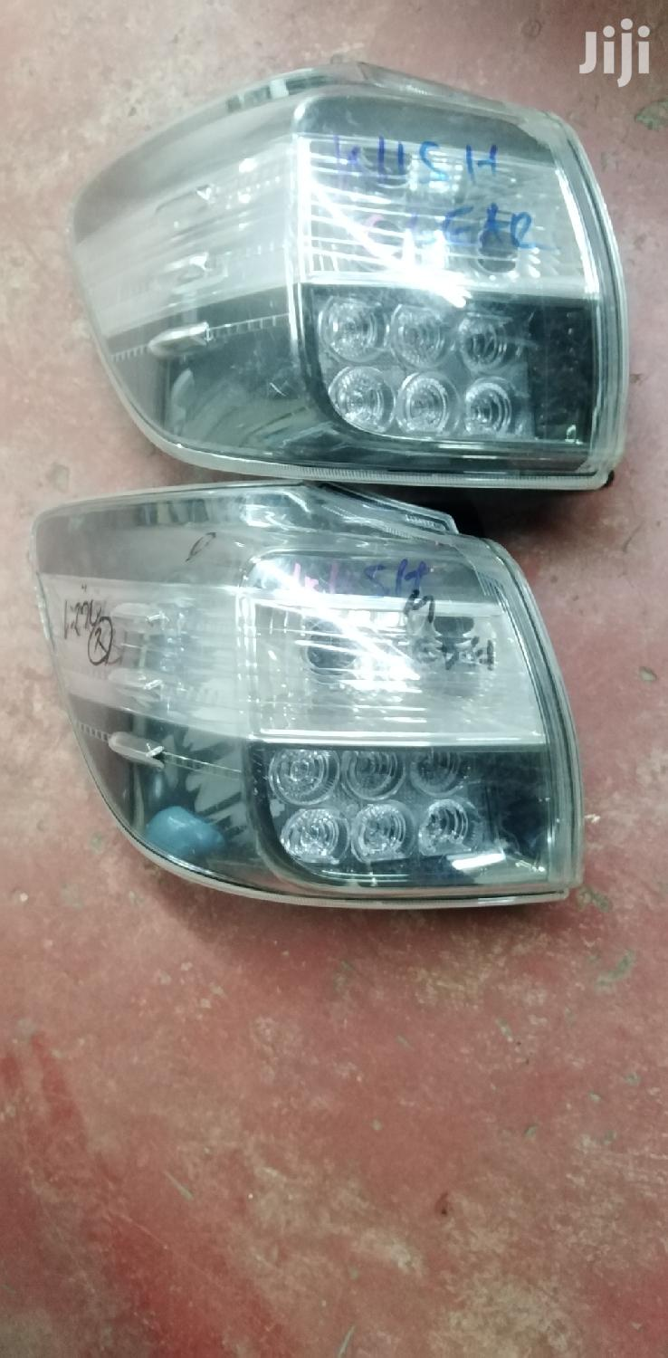 Toyota Wish 2010 Clear Taillights | Vehicle Parts & Accessories for sale in Nairobi Central, Nairobi, Kenya
