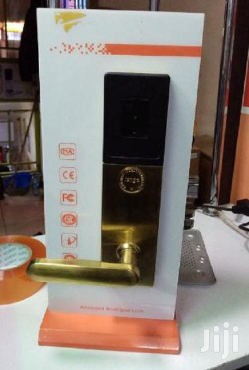 Archive: Advanced Finger Print And Card Intelligent Lock