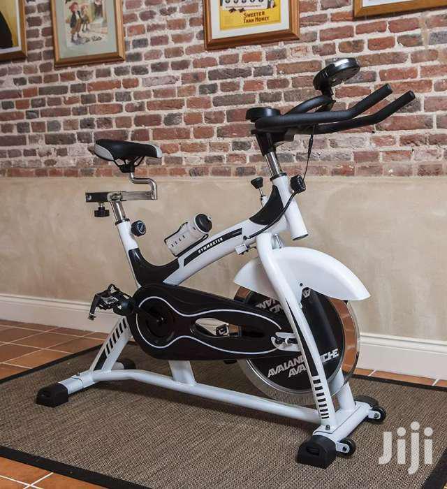 Stationary Spin Exercise Bike