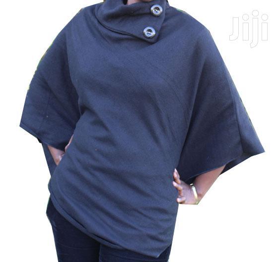 Dark/Black Stylish Poncho   Clothing for sale in Nairobi Central, Nairobi, Kenya