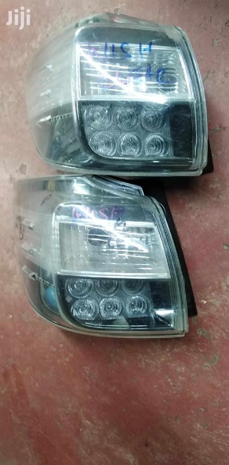 Toyota Wish 2010 Clear Taillights