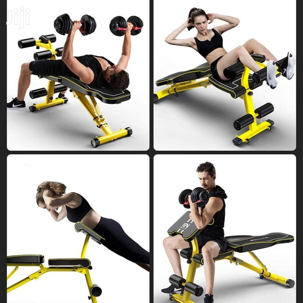 Flat Incline Decline Weight Bench