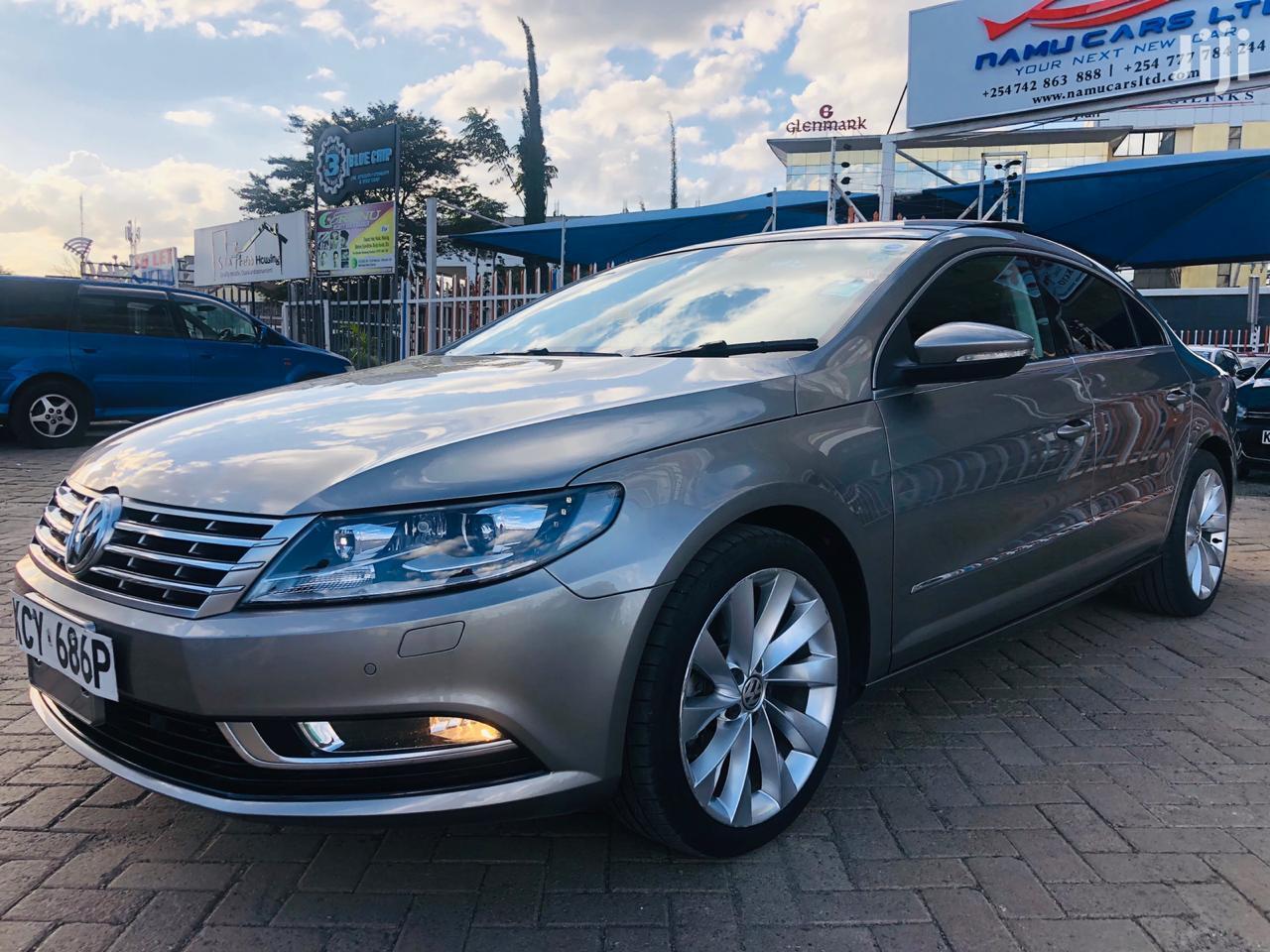 Volkswagen CC 2013 Gray   Cars for sale in Nairobi South, Nairobi, Kenya