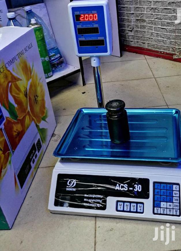 Acs 30kg Weight Scale