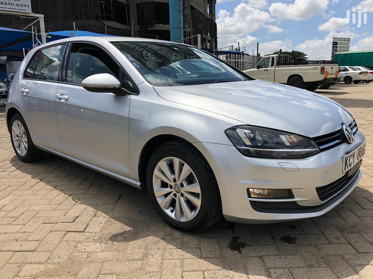 Volkswagen Golf 2013 Silver