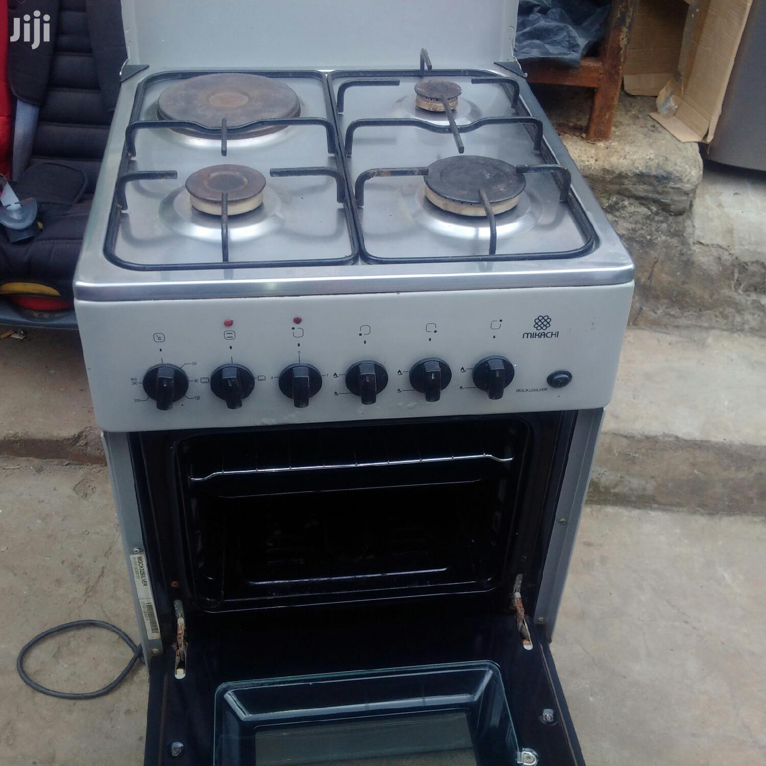 Mikachi Cooker 3gas 1 Electric Plus Oven