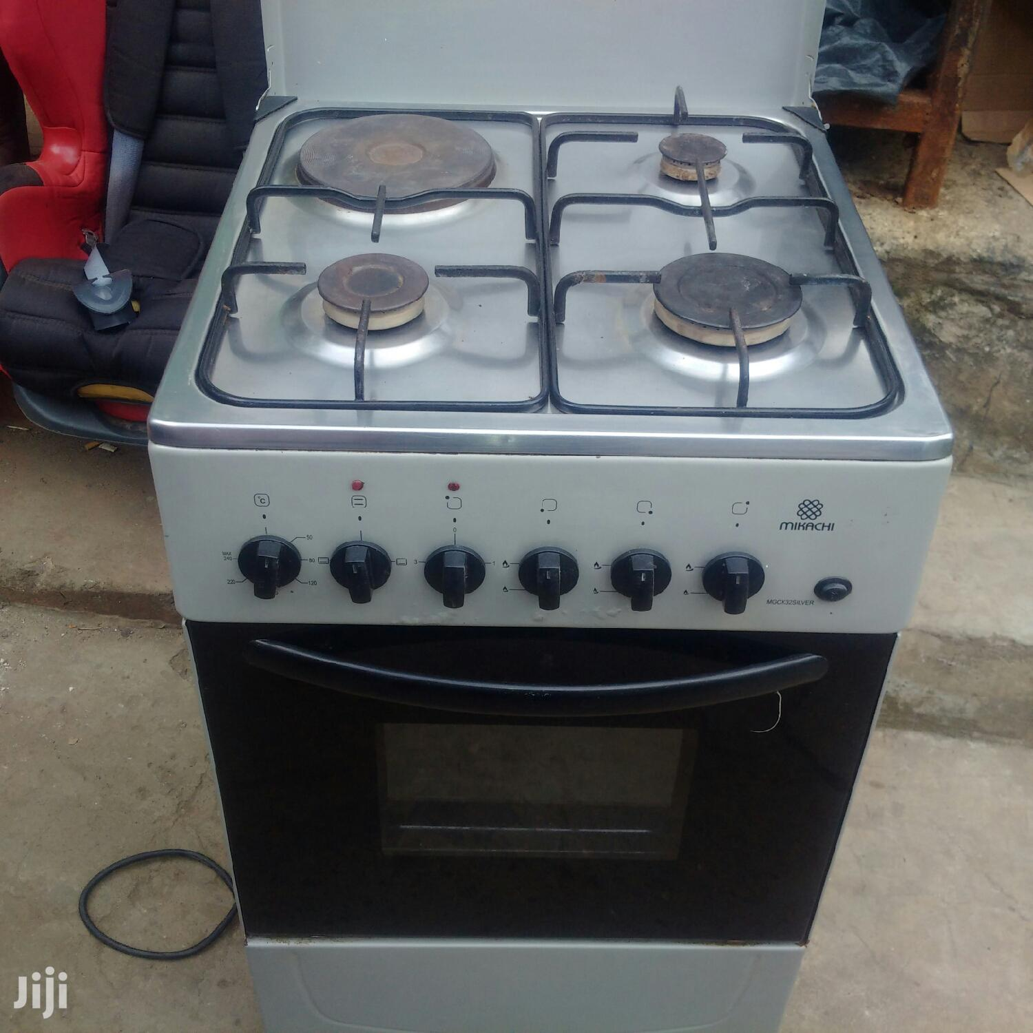 Mikachi Cooker 3gas 1 Electric Plus Oven | Kitchen Appliances for sale in Nairobi Central, Nairobi, Kenya