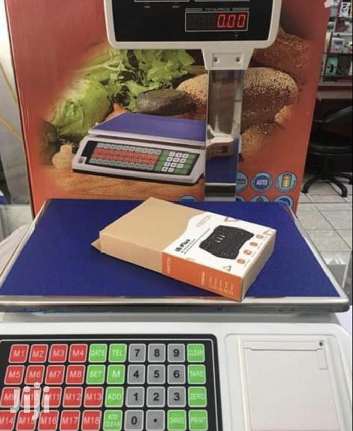 Digital Scale With Receipt
