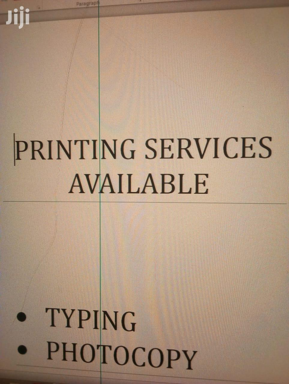 Archive: Design & Printing Services Available