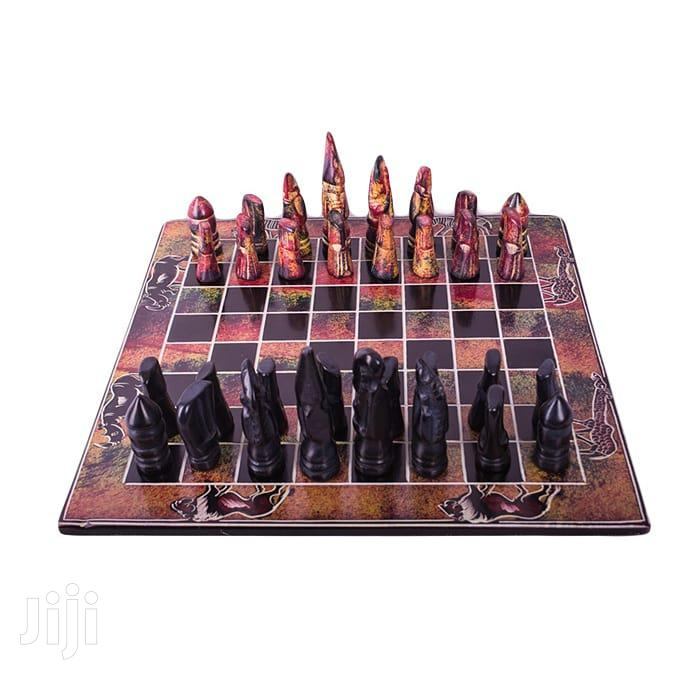 Archive: Afrikanah Soapstone Chess Board