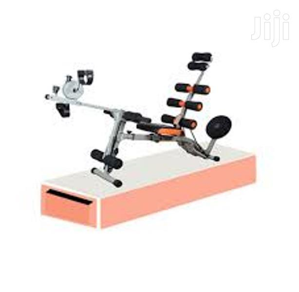New 6 Pack Care Fitness Machine With Pedals