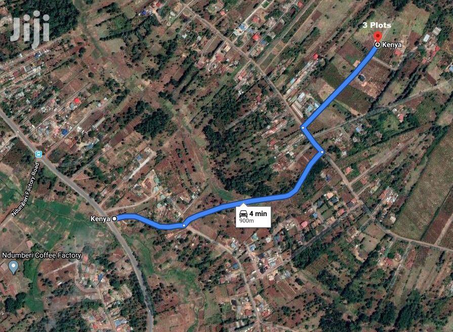 1/8 Acre Land For Sale Kiambu