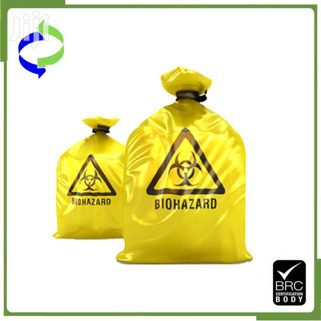 Biohazard Garbage/Waste Bags
