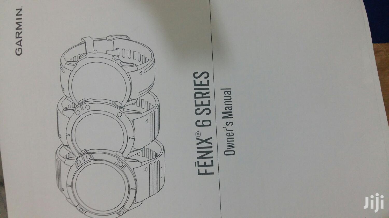 Archive: Garmin Fenix 5x