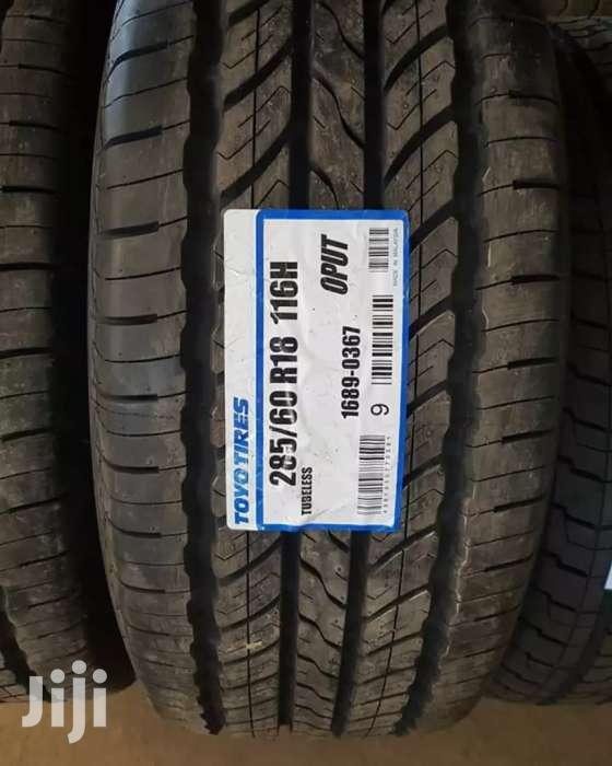 285/60/18 Toyo Tyre's Is Made In Japan