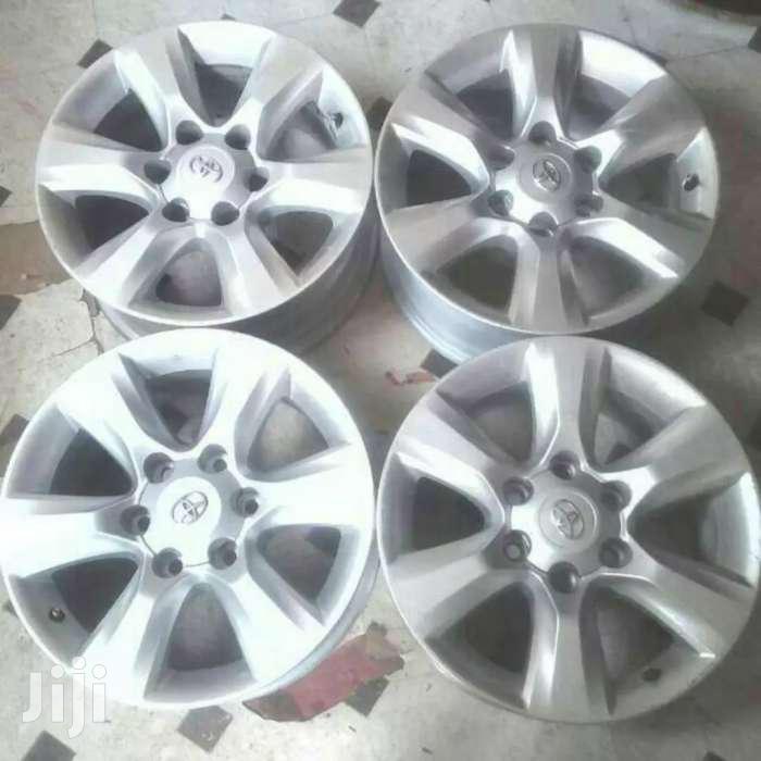 "17 Inch Alloy Exjapan Rims for Toyota Prado"""