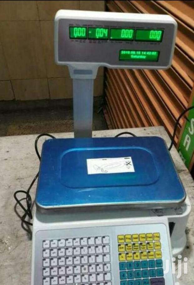 Digital Weighing Scale With Receipt