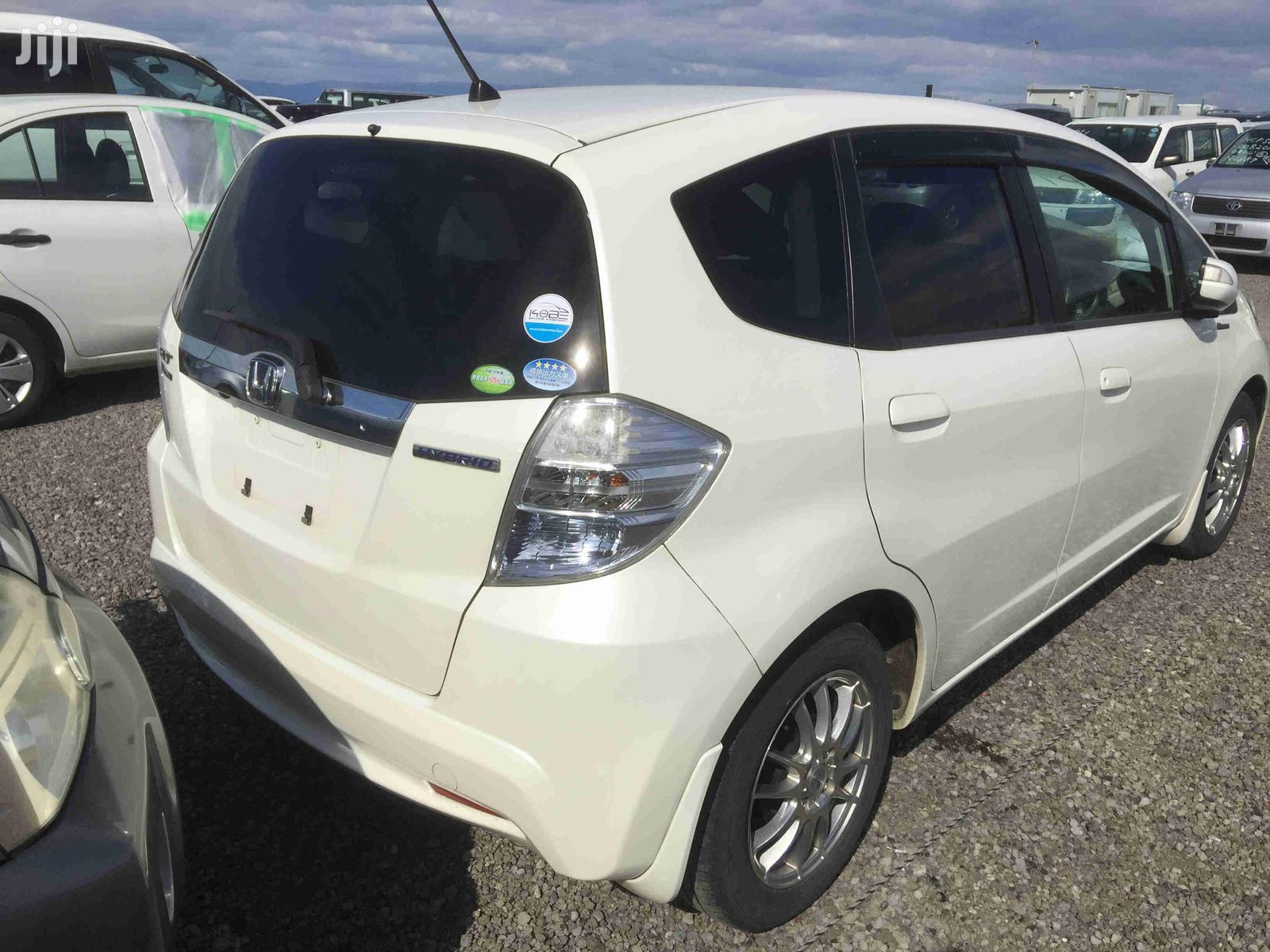 Honda Fit 2012 Automatic White   Cars for sale in Kileleshwa, Nairobi, Kenya