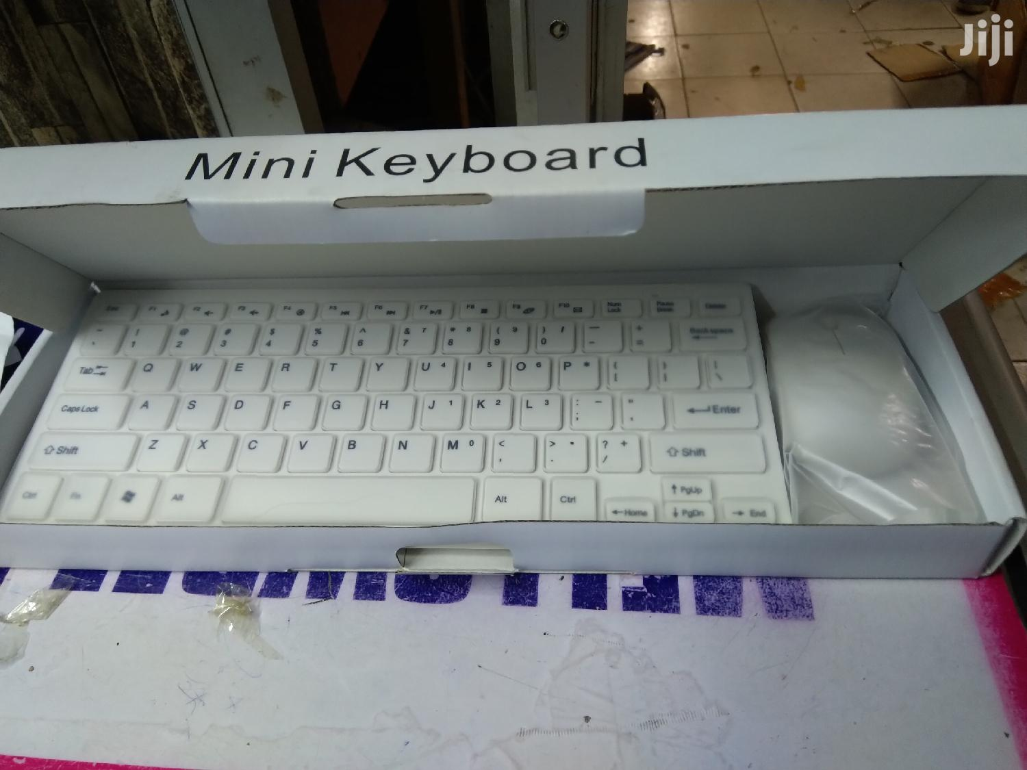 Wireless Mini Keyboard With Mouse
