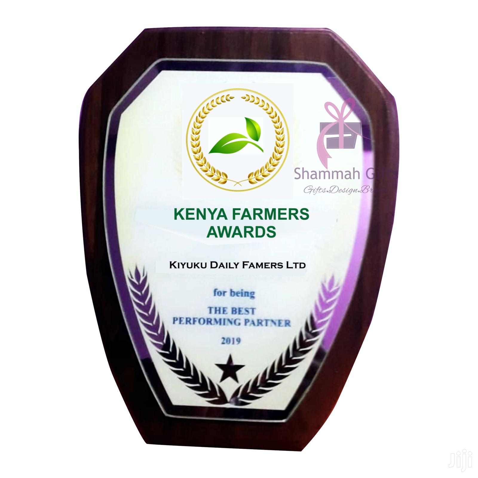 Quality Corporate Wooden Plaques Branded For Awarding Ceremonies. | Arts & Crafts for sale in Nairobi Central, Nairobi, Kenya
