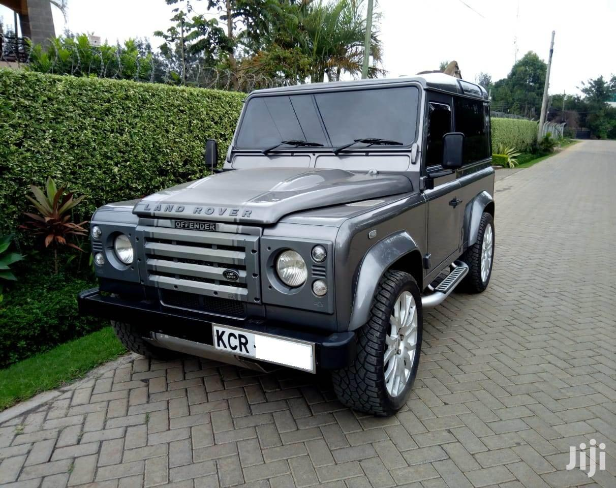 Archive: Land Rover Defender 2012 Gray