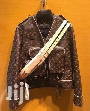 Lv Leather Designer Jacket | Clothing for sale in Nairobi, Nairobi Central