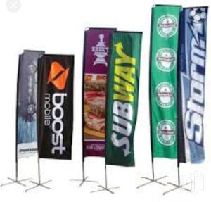 Tear Drop Roll Up Banner Printing | Printing Services for sale in Nairobi, Nairobi Central