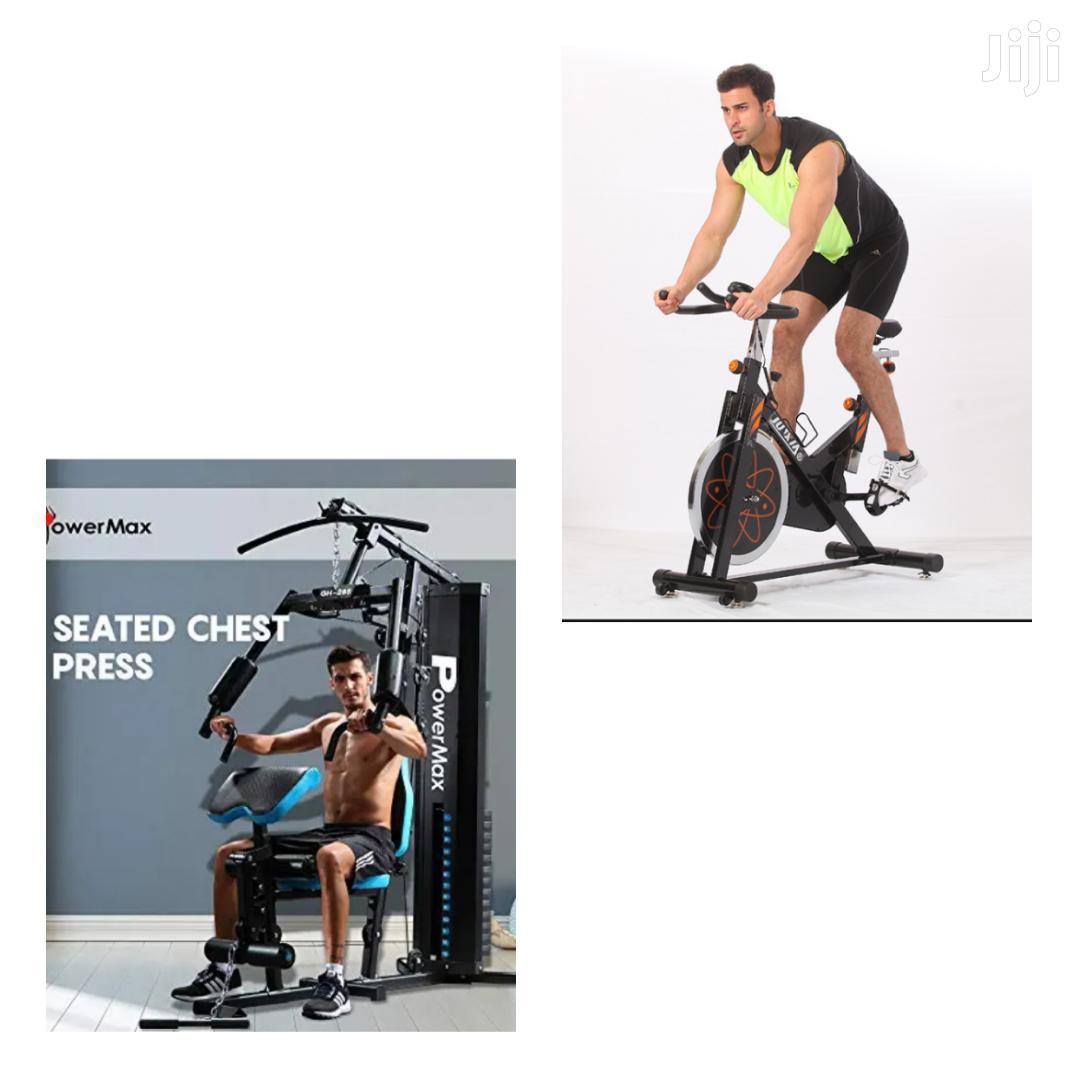 Offer! Spin Bike + Home Gym Station