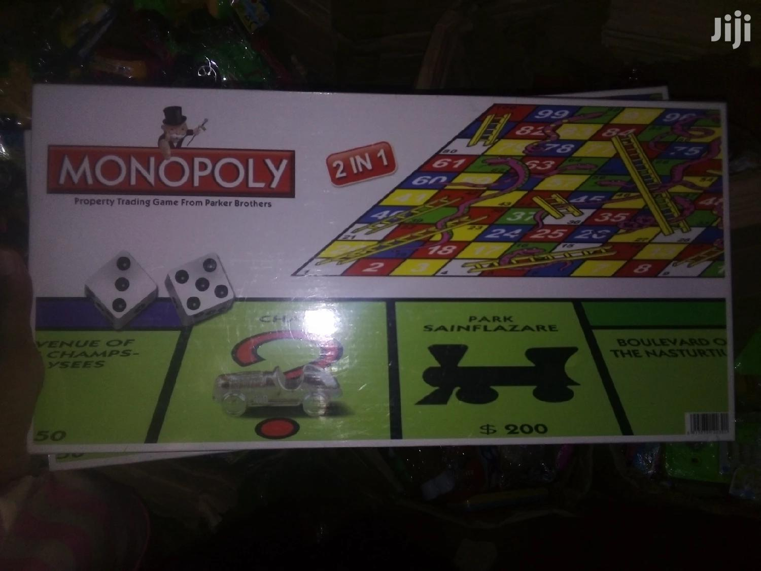 Monopoly &Snakes 2-in-1