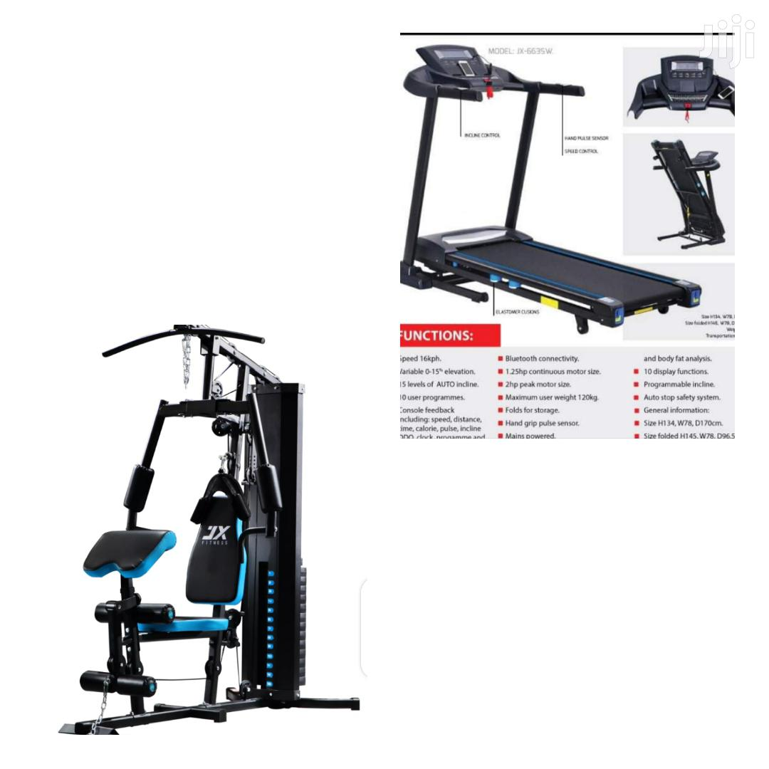 Sale! Treadmill Home Gym Package