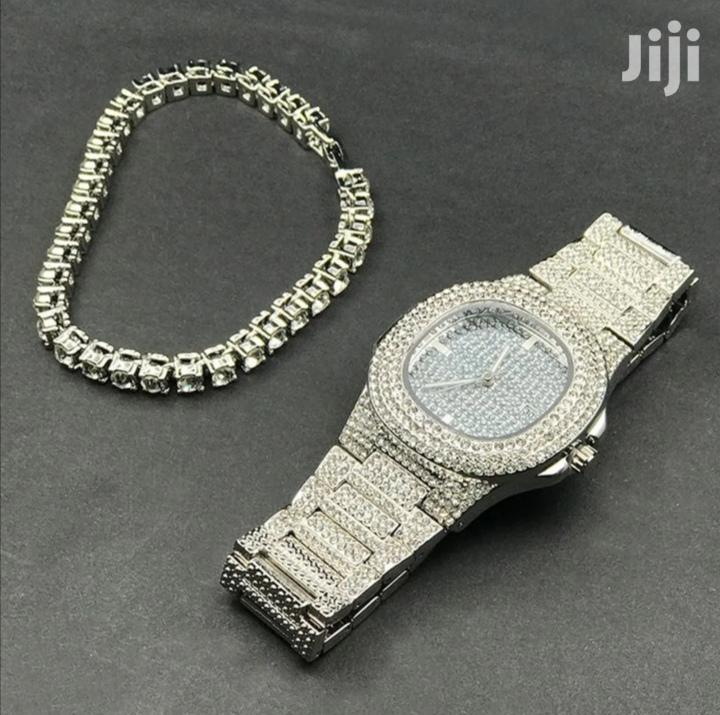 Iced Out Watch PATEK PHILIPPE
