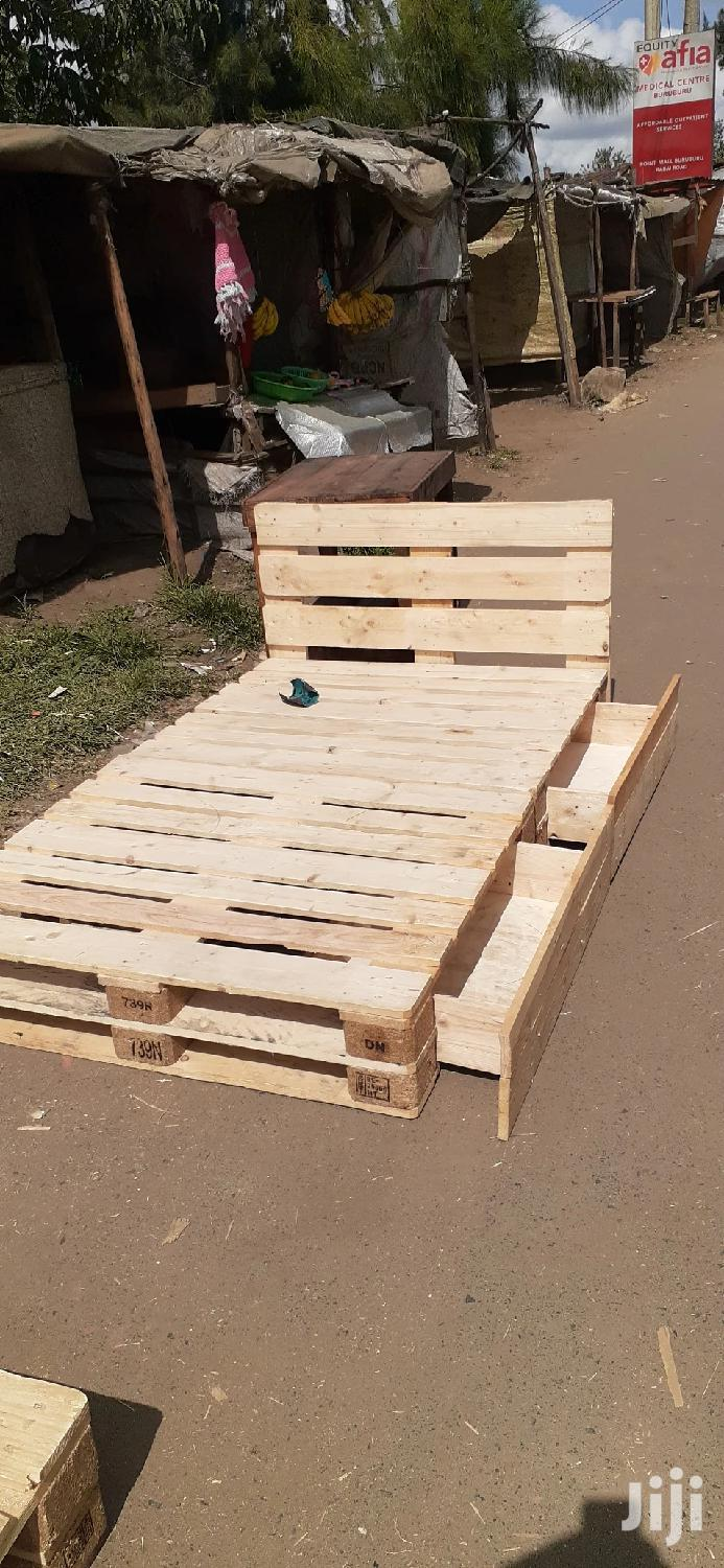 4by6 Pallet Bed With Storage/4by6 Beds/Pallet Beds