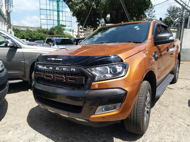 Ford Ranger 2015 Orange