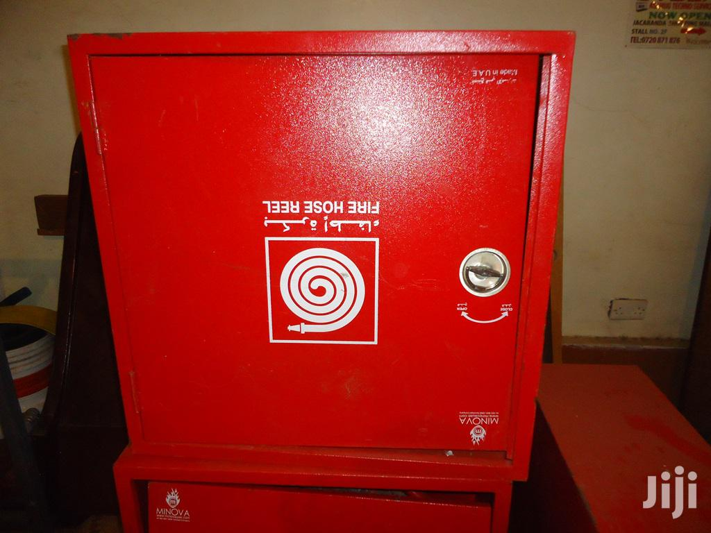 Fire Hose Reel Cabinets, Hose Reel And Signs For Sale