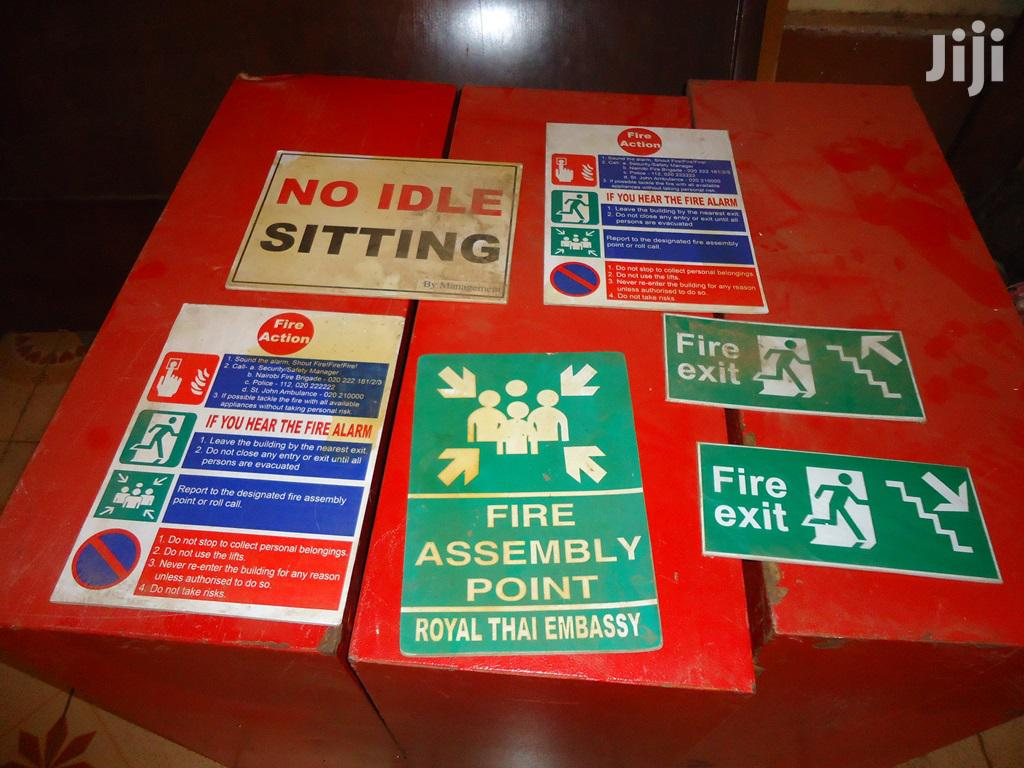 Fire Hose Reel Cabinets, Hose Reel And Signs For Sale   Safety Equipment for sale in Kahawa West, Nairobi, Kenya