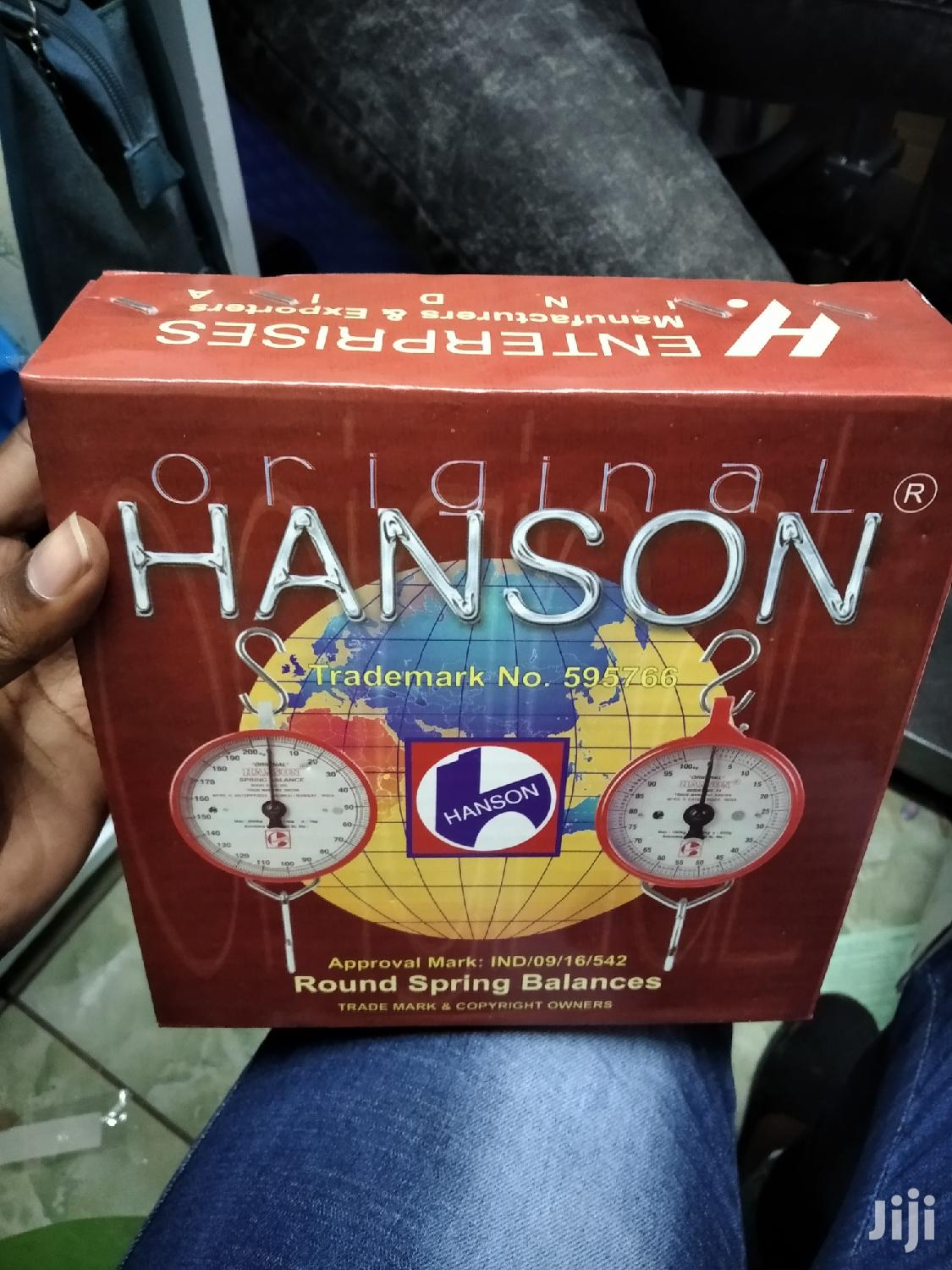 Archive: Hanson Weighing Scale
