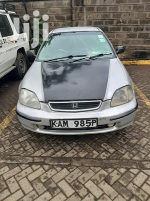 Honda Civic LX 4dr Sedan 1997 Silver