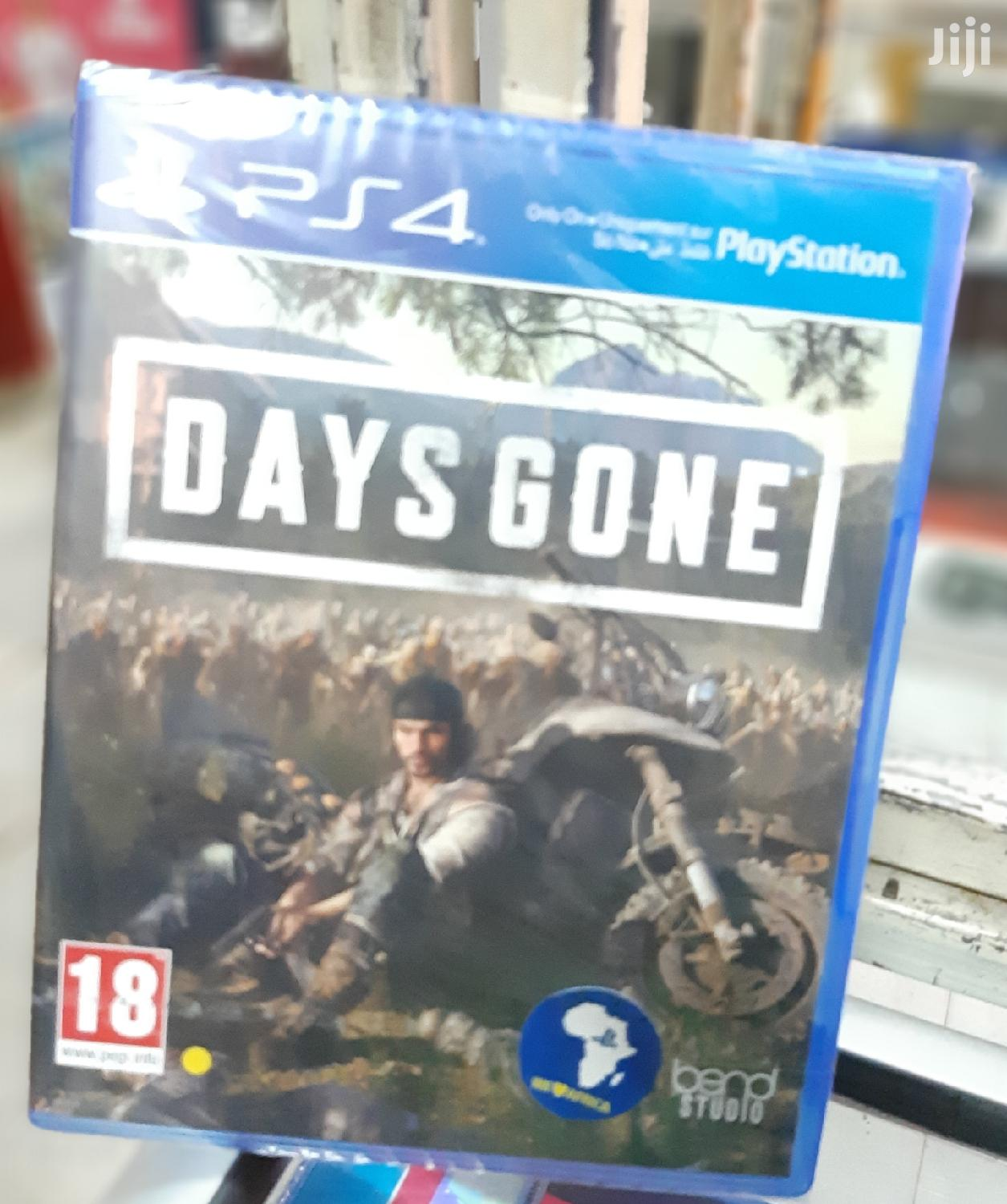 Days Gone Ps 4 Game