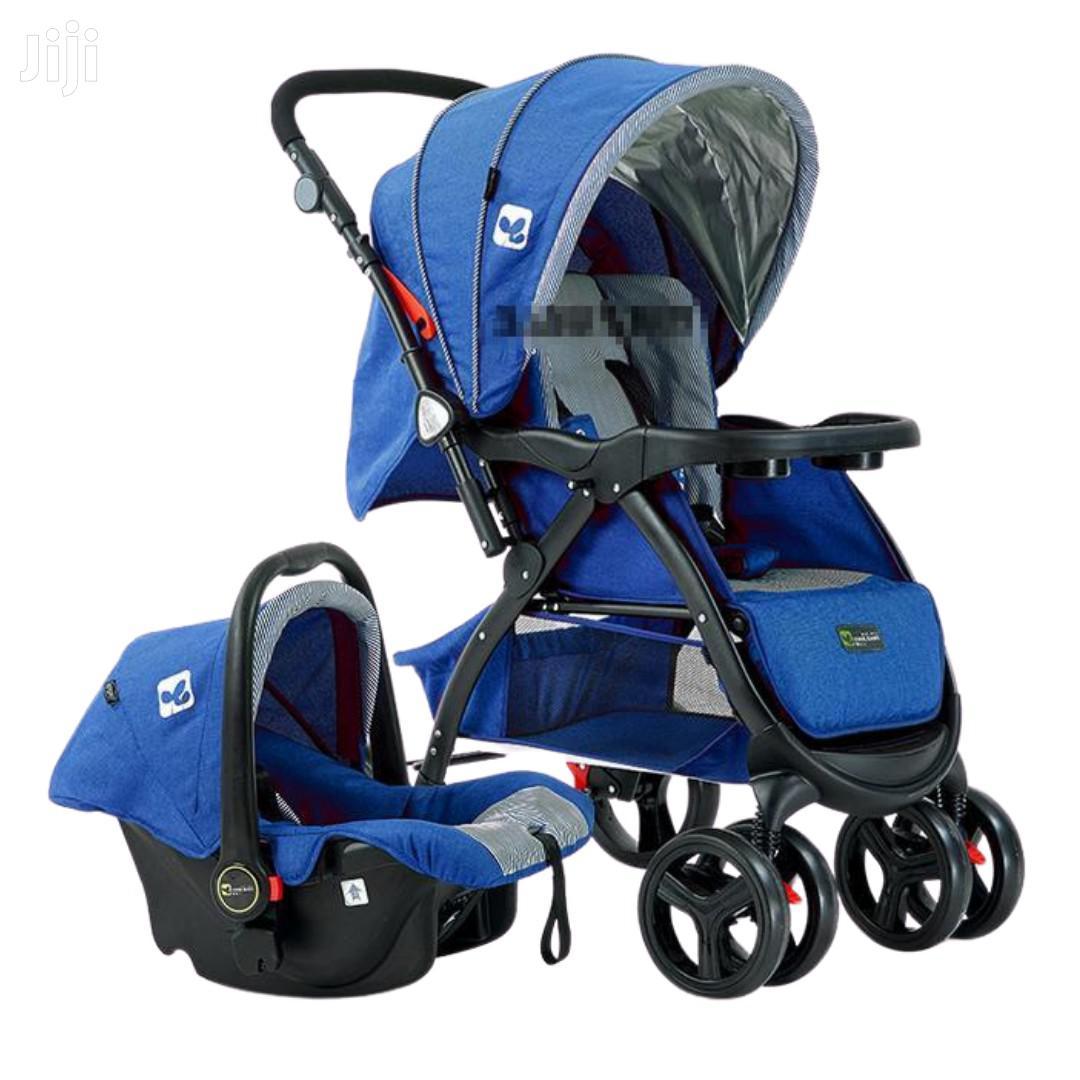 Superior 3 In 1 Baby Stroller Set - Blue
