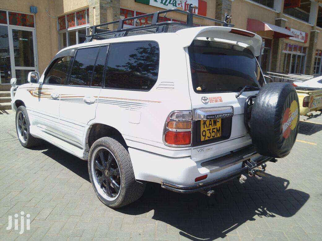 Toyota Land Cruiser 2001 HDJ 100 White | Cars for sale in Westlands, Nairobi, Kenya