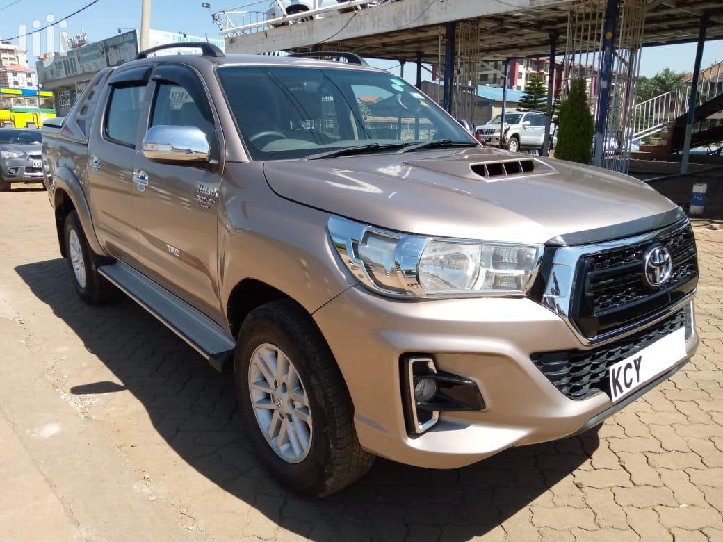 Toyota Hilux 2013 Beige | Cars for sale in Kamulu/Joska (Kasarani), Nairobi, Kenya