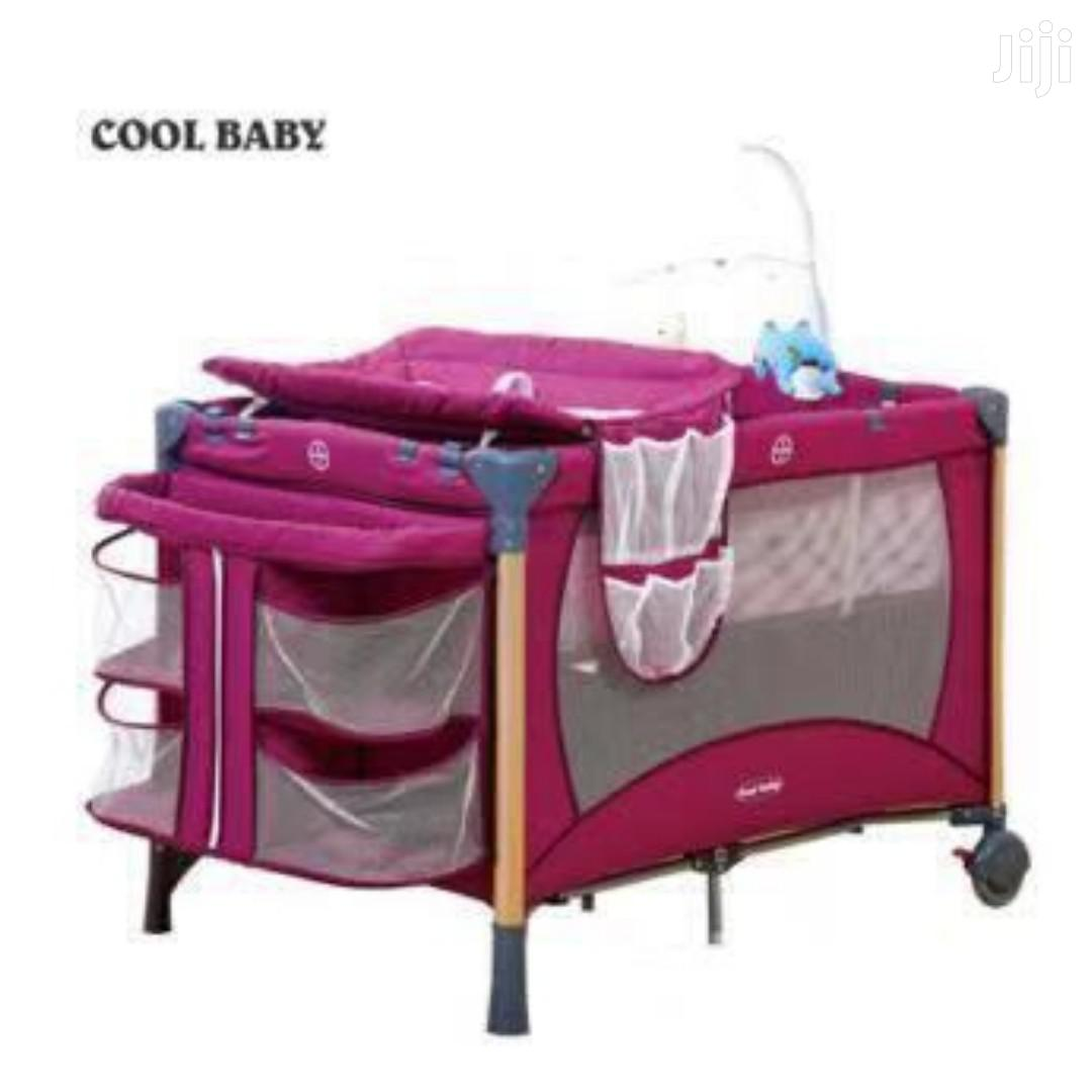 Baby Playpen Baby Crib With Changing Table And Toy Bar