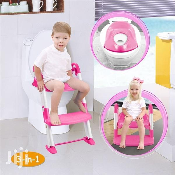 Toddler Toilet Training Ladder And Seat Potty
