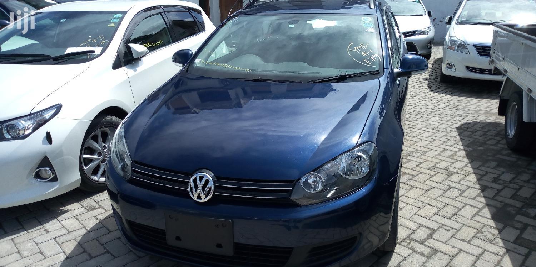 Volkswagen Golf 2013 Blue