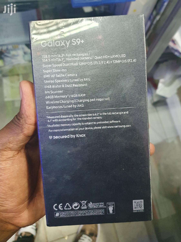 New Samsung Galaxy S9 Plus 64 GB Black | Mobile Phones for sale in Nairobi Central, Nairobi, Kenya