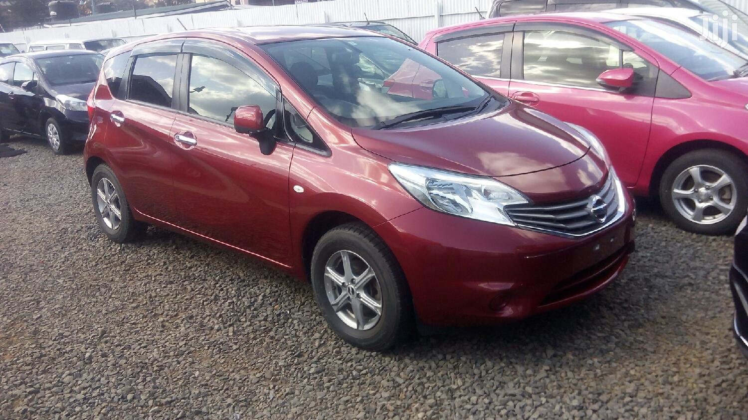 Nissan Note 2013 Red