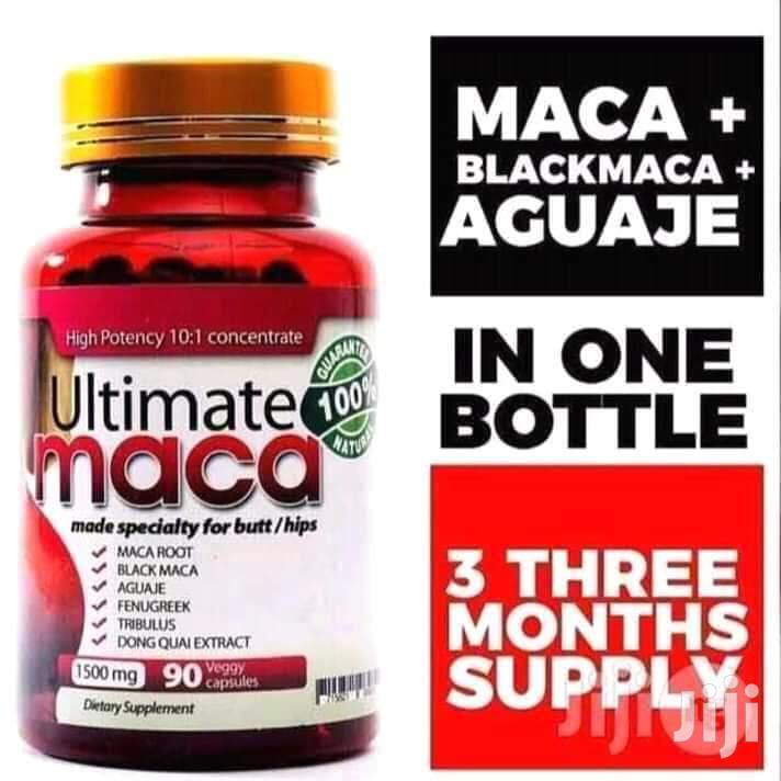 Ultimate Maca Pills for Natural Hips N Butt