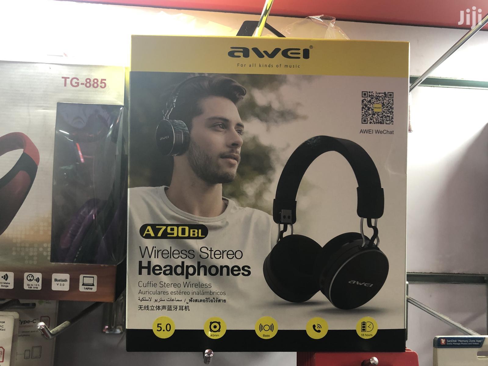 Awei Bluetooth Headphone A790 Bl | Headphones for sale in Nairobi Central, Nairobi, Kenya