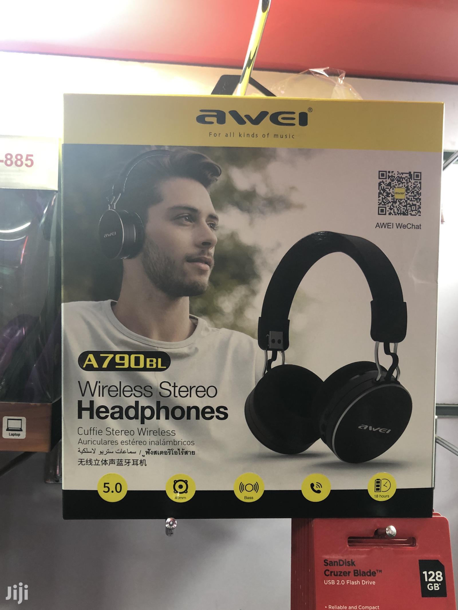 Awei Bluetooth Headphone A790 Bl